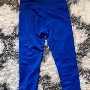 Fabletics Blue Leggings Pants with Tag